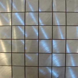 MOSAIQUES ALUMINIUM MASSIF  48/48/8 mm