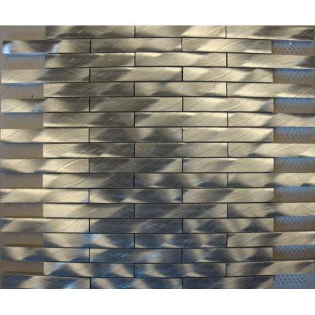MOSAIQUES ALUMINIUM MASSIF  1,5/10/8 mm DECALEES