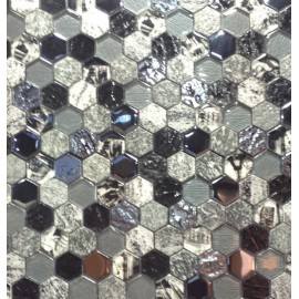 "MOSAIQUES MIX ""Y""  HEXAGONE"