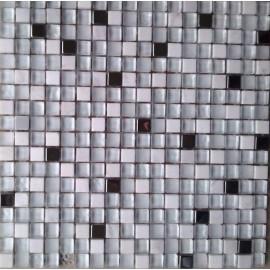 MOSAIQUES INOX BIANCO 1.5/1.5/1 CM
